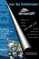 anime expo poster contest 2 by LizartLizard