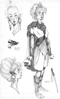 character sketch-design by BrentMcKee