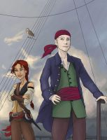 Norwegian Pirate by LilBluestem