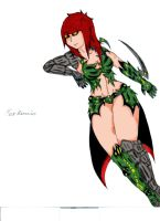 witchblade n automail by meerkamis