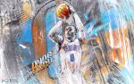 Russell Westbrook Wallpaper 3.0 by skythlee