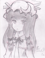 patchouli Knowledge by siinclaiir