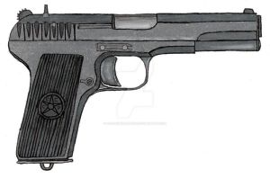 Tokarev TT33 by stopsigndrawer81