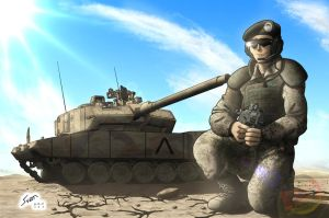 Max and his Panzer by Panzerfire
