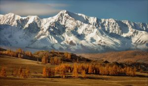 Autumn in Mountain Altai by Csyyt
