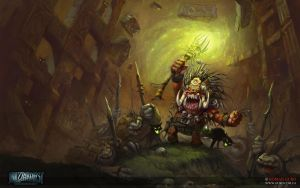 Blizzardfest 2014: BoganShaman. Wallpaper FullHD by Guro