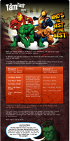 Marvel Games casino email by mangion