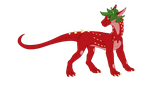 Uncommon Pererth Adoptable: Strawbebby by RedtheGamr