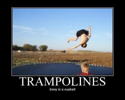 Trampolines by CrimsonFox36