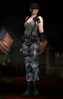 Jill Valentine(Army) Resident Evil HD by XKamsonX