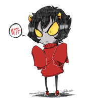 Homestuck - wtf by Rika-Wawa