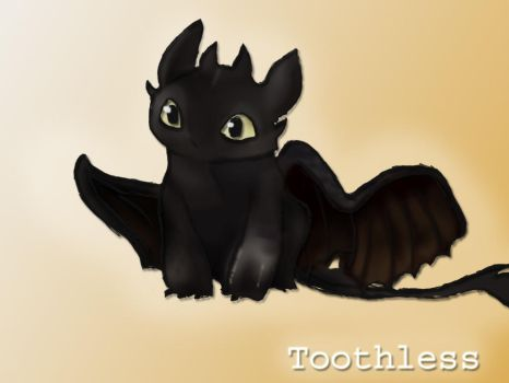 Toothless by Hasanti
