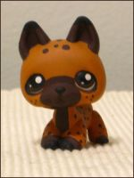 Baako, the Littlest Hyena by coffinberry