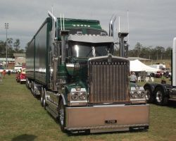 Kenworth T-909 B-double by RedtailFox