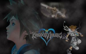 Kingdom Hearts by gaara171