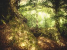 Dappled Forest by McFunkypants