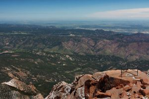 View from Pike's Peak by eagle79