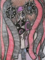 Cyber Goth Girl by Deathkidsouleater94