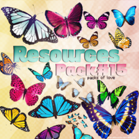 Butterfly Png Pack by IremAkbas