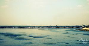 Assiut Barrages, Egypt by Olwant