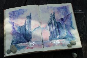 Give five to Isildur and Anarion by Kinko-White