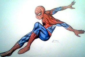 Spiderman by War-Off-Evil
