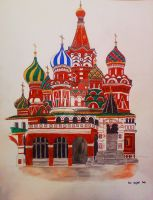 Moscow illustration by Sikorax