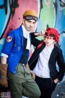 Cid and Reno 01 by drkitsune