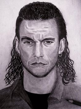 Jean-Claude Van Damme by Georgeart93