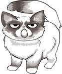 Grumpy Cat by Athey
