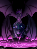 succubi princesses by Silverfox057