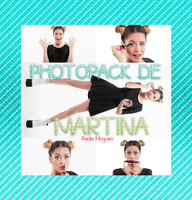 Photopack de Martina Stoessel by PaolaMoguea16