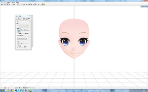 MMD - New TDA SeeU [Face] WIP 1 by Yufuchi