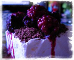 Raspberry Icecream by DanaAnderson