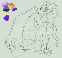 Dragonofbrainstorms Commissh WIP by Nightrizer