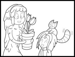 Synthea's new plant by KingMonster
