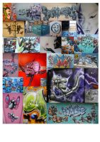 Graffiti montage... by jamielawrence