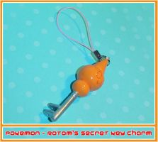 Pokemon Rotom Secret Key Charm by YellerCrakka