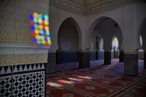Colorful Mosque Rissani by Netsrotj