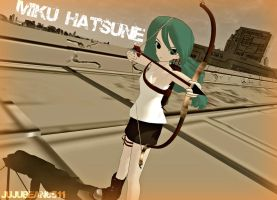 [MMD] Apocalypse Miku Hatsune +DL by Party-P