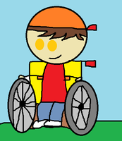 Sam McStine The Wheelchair Bounded Kid by hershey990