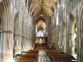 Worcester Cathedral by Kevin-Welch