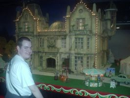 Me On Set Wallace and Gromit by JordanB1
