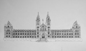 The Natural History Museum by AlphaPsyka