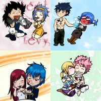 Fairy Tail - Wanna be my valentine? by Milui87