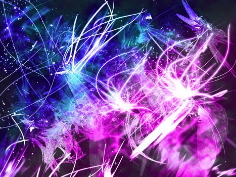 Glowing Wallpaper by chiefwrigley
