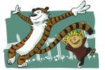 Calvin and Hobbes by galgard