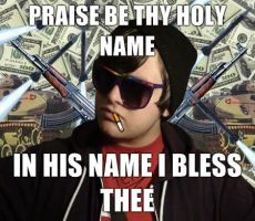 Prais be thy holy name. by TheStrawberryField