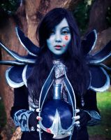 [Dota 2] Phantom Assassin Cosplay - Blood splatter by QTCosplay