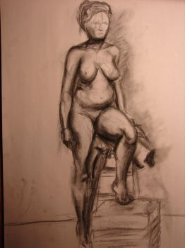 Live Model Drawing by SaintBree